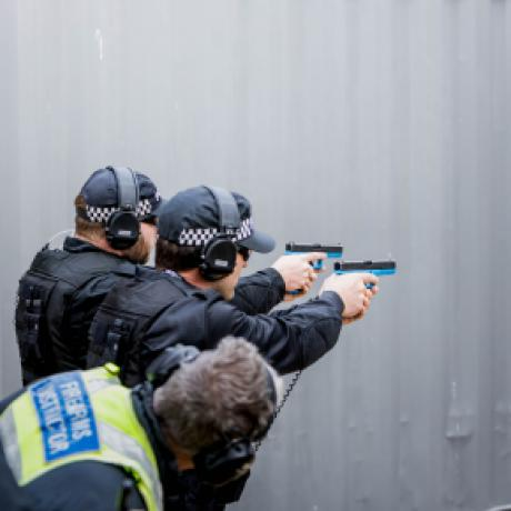 Specialist tactical firearms officers